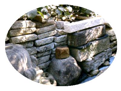 庭の大小、様式など種々のニーズに答えられるよう石材を常備しています